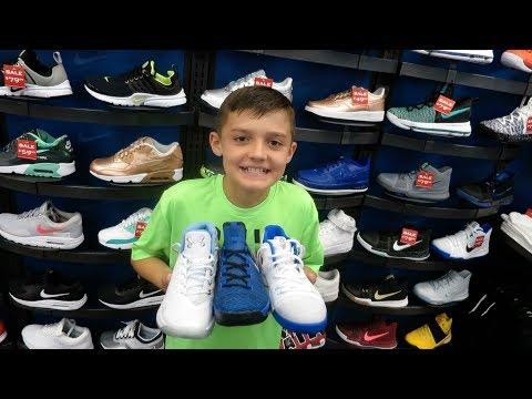 Basketball Shoe Shopping 2017