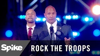 Dwayne Johnson For President - Rock The Troops