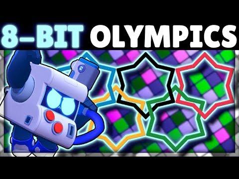 8-BIT OLYMPICS!   How Does 8-BIT do in EVERY Test?!   New Brawler 8-BIT Mechanics
