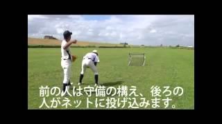 【送料無料】野球 守備 投球練習用 フィールディングネット2 byフィールドフォース