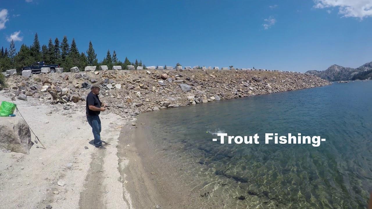 Loon Lake Ca, Trout Fishing 2017