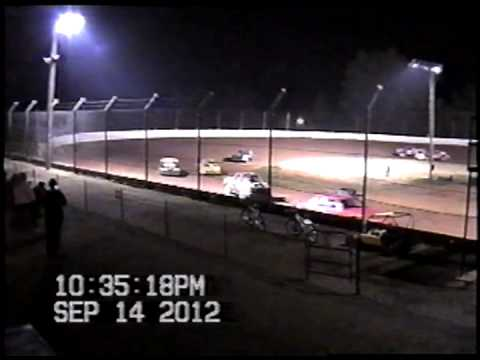 Doe Run Raceway Ministock Feature-September 14,2012