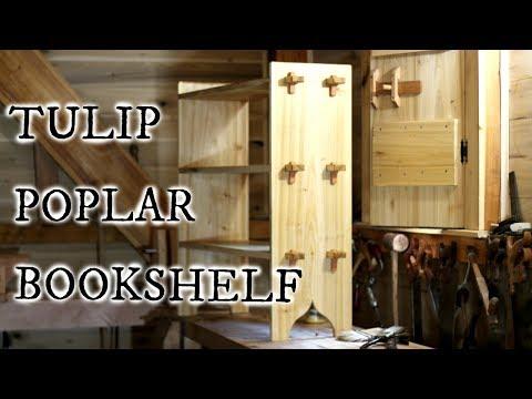 TULIP POPLAR BOOKSHELF