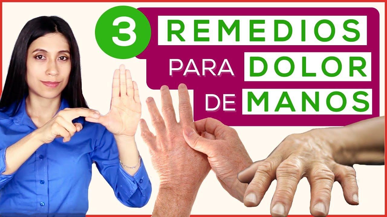 Remedio casero para la artrosis de manos