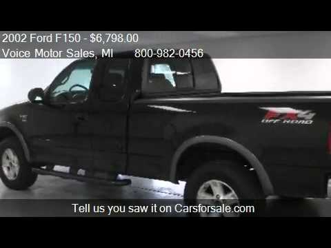 2002 ford f150 xlt fx4 4x4 for sale in kalkaska mi for Voice motors kalkaska michigan