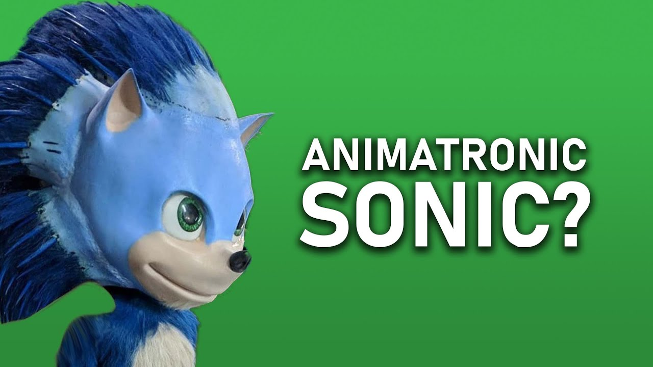 Sonic The Hedgehog 2020 Movie Used Animatronics Youtube