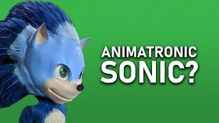 Sonic The Hedgehog (2020) Movie used ANIMATRONICS?