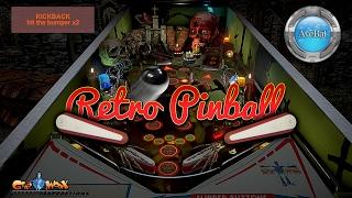 Retro Pinball Gameplay 60fps