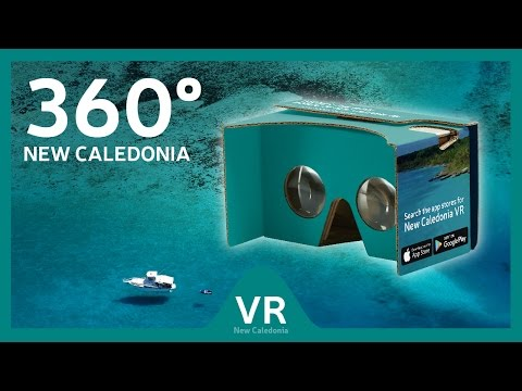 360° video: Discover the many worlds of New Caledonia