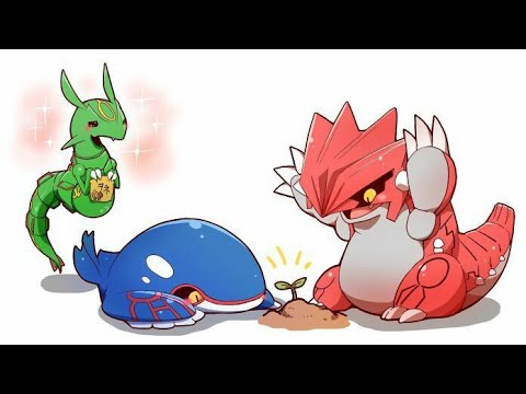 Kyogre and groudon grow a plant pokemon comic dub youtube - Pictures of groudon and kyogre ...
