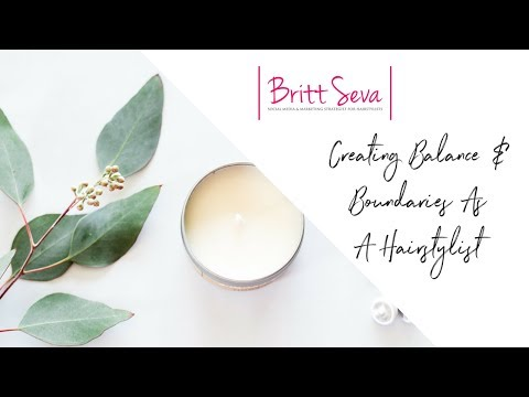 Creating Balance and Boundaries as a Hairstylist