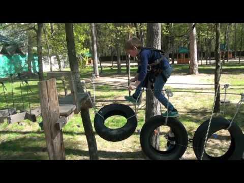 #1 VLOG Веревочный парк приключения Димы The Rope Park