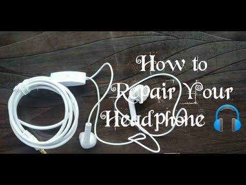 Download How to Repair 🎧 Headphone  || Headphone ko kaise thik kare || Tech Studio