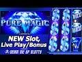 Pure Magic Slot - Live Play and Free Spins Bonuses