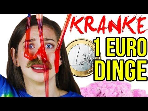 DIE DÜMMSTEN 1 EURO SHOP SPIELZEUGE im LIVE TEST! MEGA CRAZY 1€ DINGE HAUL