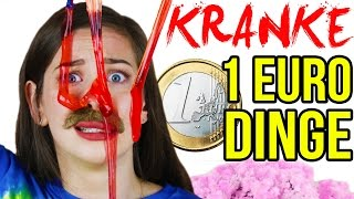 DÜMMSTE 1 EURO SHOP SPIELZEUGE im LIVE TEST! MEGA CRAZY 1€ DINGE HAUL