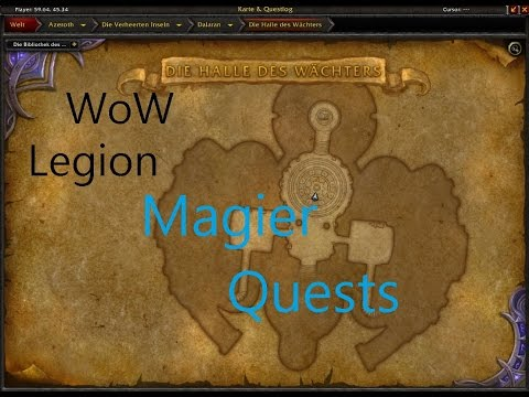 Izocke Wow Legion Klassenquests Magier 079 Champions Der
