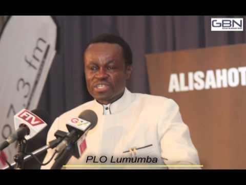 Professor Lumumba at PAV Ansah Foundation Forum