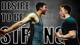 DESIRE TO BE STRONG | HARDCORE FITNESS MOTIVATION
