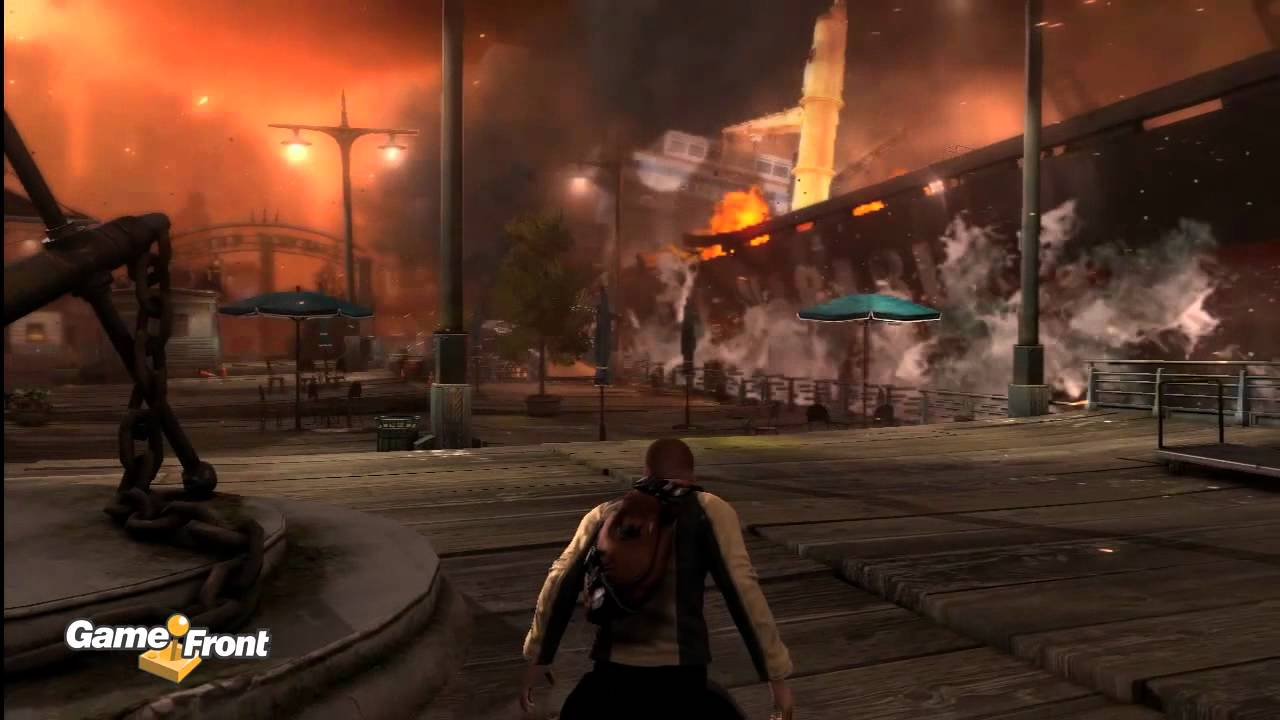 inFamous 2 Walkthrough - Gaming Today - GameFront on infamous shard map complete, infamous 1 shard locations, infamous 1 cole, infamous second son map, infamous ps3 unlockables map, infamous blast shard map 1, blast shards ps3 map,