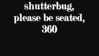 shutterbug, please be seated., 360
