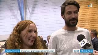 Cinéma : le film sur le Facteur Cheval émeut les habitants d'Hauterives dans la Drôme