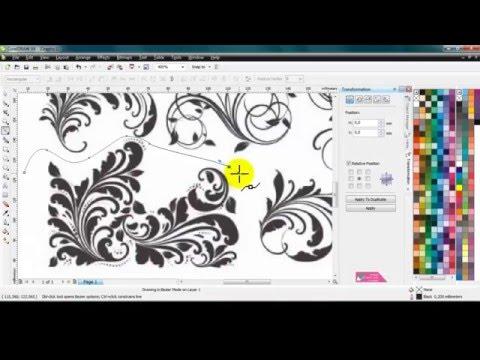 Tutorial Tracing Gambar Menjadi Vector Belajar Coreldraw | Watch ...