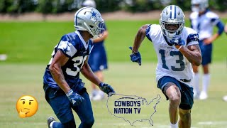 Cowboys 2018 WR Battle| Who's In? Who's Out?