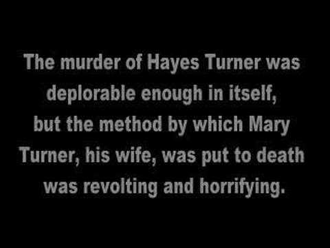 Hayes & Mary Turner Lynching