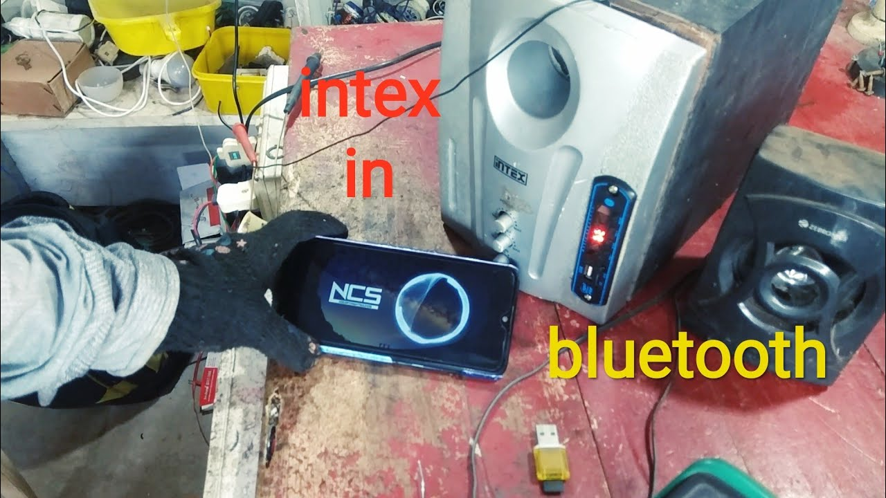 bluetooth player in old intex home theatre