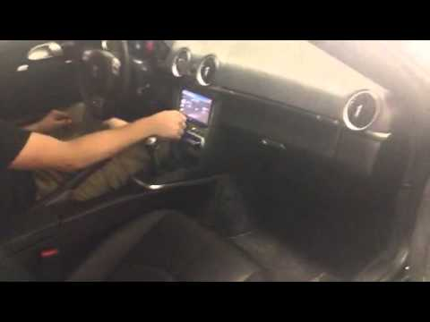 Porsche Cayman S: Custom Exhaust and Custom Dash by Underground