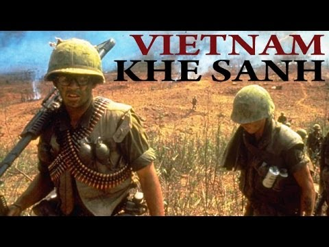 Vietnam War - Battle of Khe Sanh | 1968 | US Marines in Vietnam | Combat Footage | Documentary Film