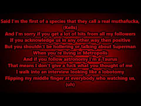 Machine Gun Kelly - Alpha Omega lyrics Hd