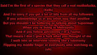 Machine Gun Kelly - Alpha Omega lyrics Hd