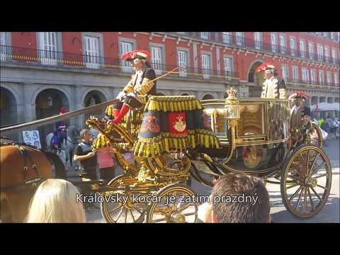 Madrid - španělský král Filip VI. (Felipe VI de España) vyráží na výlet - září 2016