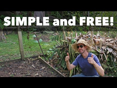 How to Build a Low Infrastructure Compost Pile (No Tumblers, No Bin, No Problem!)