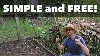 Build a SUPER EASY Compost Pile (No Tumblers, No Bin, No Problem!)