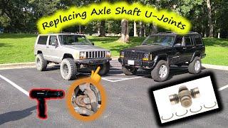 Replacing JEEP XJ Axle Shaft U-Joints
