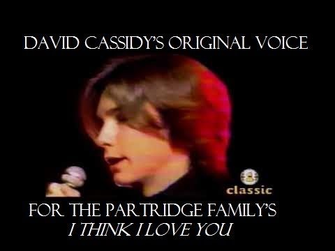 David Cassidy's Original Real Voice for The Partridge Family's,