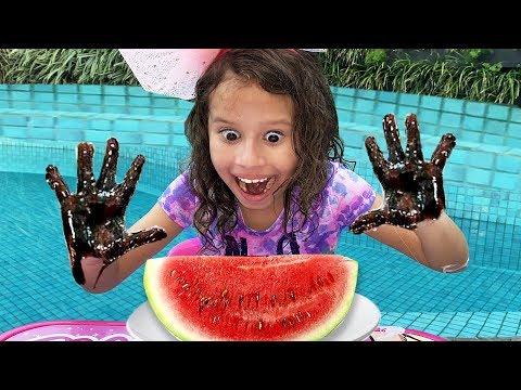 Johny Johny Yes Papa   Valentina A Menina Que Não Lava As Mãos