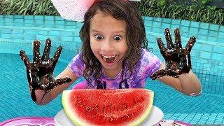 Johny Johny Yes Papa | Valentina A menina que não lava as mãos