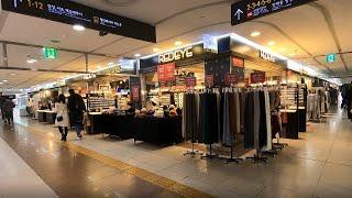 Gangnam underground shopping c…
