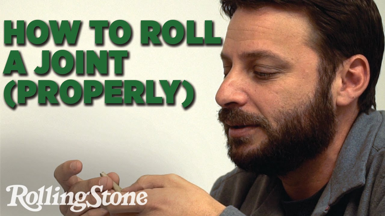 How To Roll A Joint Properly Youtube