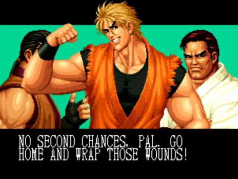 The King of Fighters '95 (Arcade) Playthrough as Art of Fighting Team