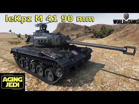 World of Tanks - leKpz M41 90mm Review + Light Tank Stuff
