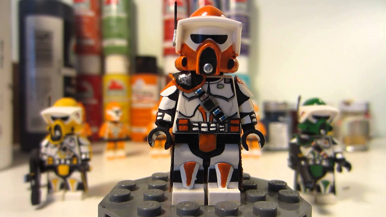 custom lego star wars onreng clone arf trooper minifigures - youtube