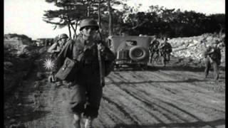 US soldiers of 7th and 96th Infantry Division and elements of 27th Infantry Divis...HD Stock Footage