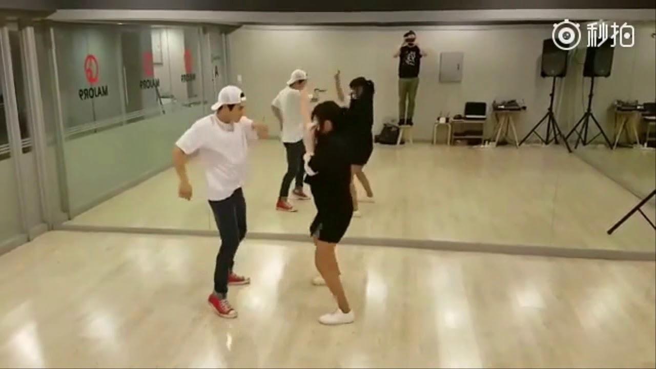 Go Ara & Kim Dong Jun - Halloween Dance Practice (OCN