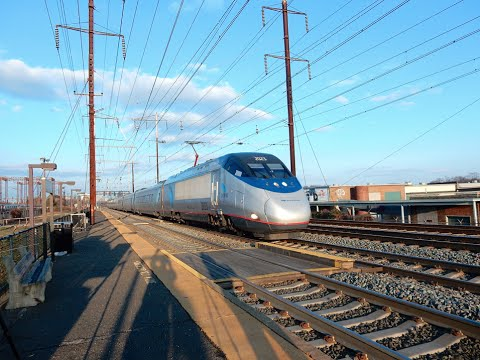 Insane High Speed Rail Action at Jersey Avenue