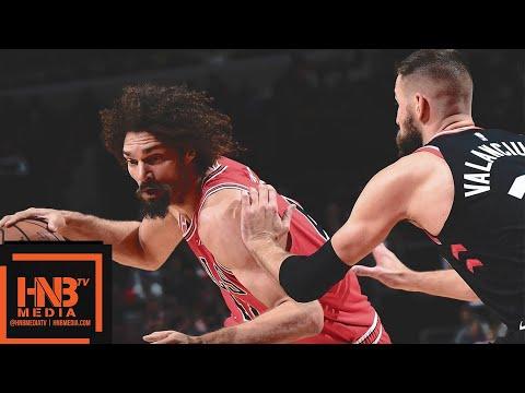 Toronto Raptors vs Chicago Bulls Full Game Highlights | 11.17.2018, NBA Season